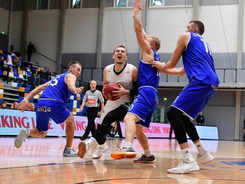 Arnas Velicka / TÜ vs Jurmala, 29.09.2018 / Olybet Estonian-Latvian Basketball League