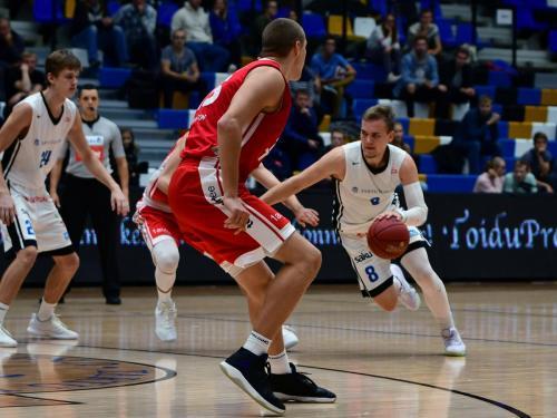 Arnas Velicka / TÜ vs TalTech, 10.10.2018 / Olybet Estonian-Latvian Basketball League